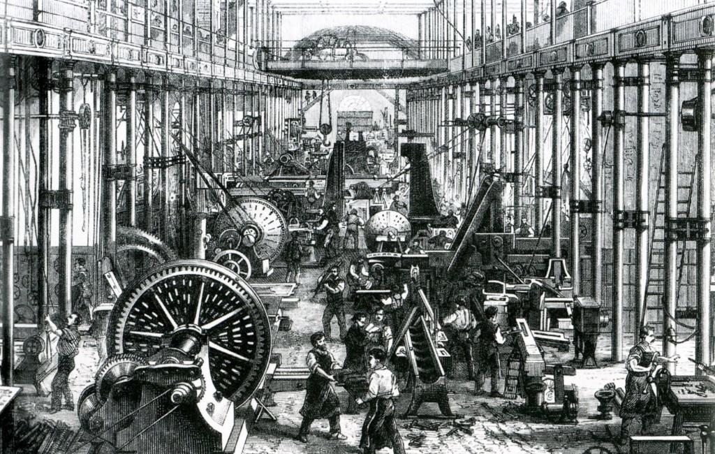 تاريخ الثورة الصناعية – أعجمي
